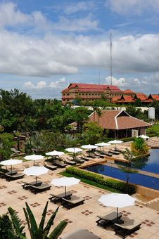 Free Siem Reap Hotel Royalty Free Stock Photography - 14693007