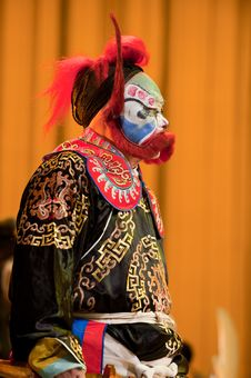 Free China Opera Clown Royalty Free Stock Photos - 14693338
