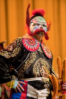 Free China Opera Clown Royalty Free Stock Photo - 14693345