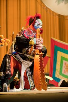 Free China Opera Clown Royalty Free Stock Images - 14693349