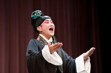Free China Opera Scholar Roared Stock Images - 14693364