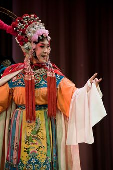 Free China Opera Actress Stock Image - 14693381