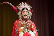 Free China Opera Actress Royalty Free Stock Photo - 14693385