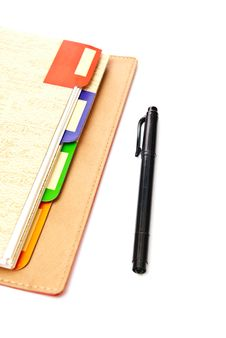 Free Pen And Notepad Stock Photo - 14693470