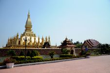 Laos Temple View