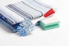 Washing Up Kit Royalty Free Stock Photo