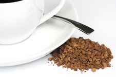 Free Instant Coffee Royalty Free Stock Photo - 14694315