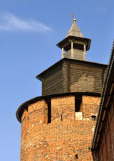 Free Watchtower Of A Fortress. Royalty Free Stock Photo - 14694415