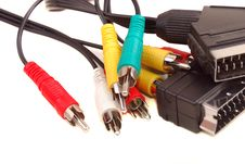 Free Video Rca A Cable Royalty Free Stock Photo - 14694495