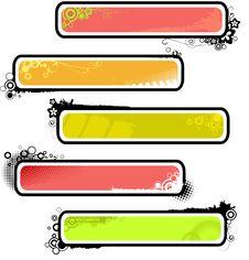 Free Grunge Banner_23 Stock Photos - 14696023
