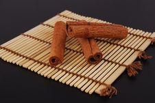 Sticks Cinnamon Stock Image