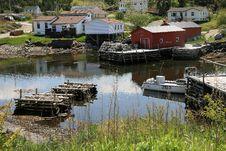 Free Rural Fishing Village Royalty Free Stock Photography - 14696167