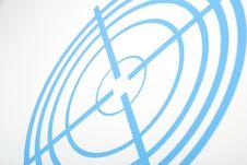 Free Dark Blue Target Stock Image - 14696191