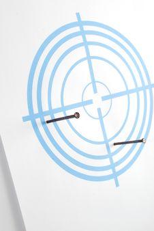 Free Dark Blue Target Stock Image - 14696331