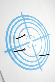 Free Dark Blue Target Stock Image - 14696371