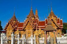 Free Thai Temple Royalty Free Stock Image - 14696706