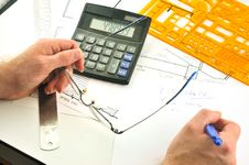 Free Calculation Of Structures Stock Photos - 14696933