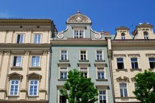 Free Old House On The Main Square In Cracow Stock Photo - 14697410