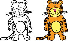 Free Happy Tiger Royalty Free Stock Photography - 14697567