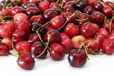 Free Red Cherries Royalty Free Stock Images - 14698079