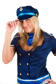 Free Image Of Sexy Sailor Royalty Free Stock Photo - 14698145
