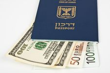 Free Israeli Passport Royalty Free Stock Photos - 14698308