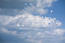 Free Helium Balloons Royalty Free Stock Images - 14698639
