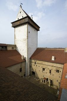 Narva Herman Castle. Royalty Free Stock Images
