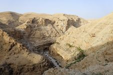 Judea Desert Landscape. Stock Images