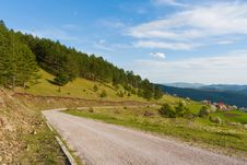 Free Mountain Road Stock Images - 14699534