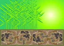 Free Bamboo And Stone Masonry Stock Photos - 14699783