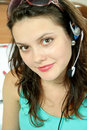 Free Girl With Headphone Royalty Free Stock Images - 1472669
