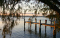 Free Jetty At Sunset Stock Images - 1472984