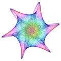 Free Cosmic Snowflake Stock Image - 1478281