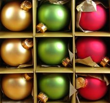 Free Packaged Ornaments Royalty Free Stock Photo - 1470445