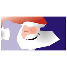 Free Santa Claus Card Stock Photo - 1471170