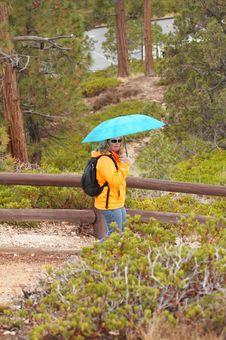 Free Women With Umbrella Stock Image - 1472031