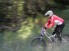 Free Mountain Bike Motion Panning Stock Photo - 1472520