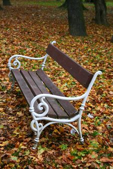 Free Park Bench Royalty Free Stock Images - 1472559