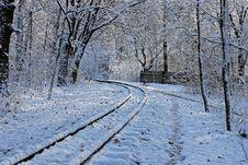 The Children Railway. Stock Photography