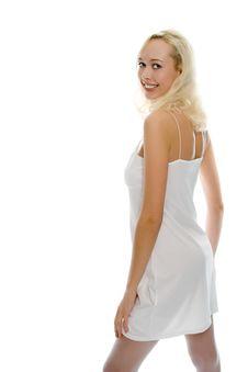 Free Beauty Blonde Girl Portrait Royalty Free Stock Image - 1474156