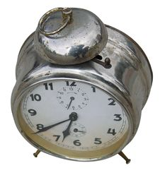 Free Old Alarmclock Stock Photography - 1475272