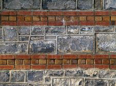 Free Brick And Stones Wall Stock Image - 1475331
