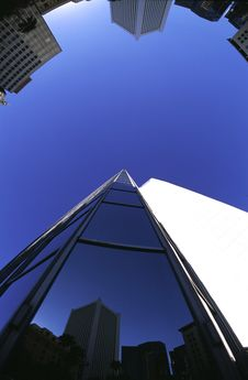 Free Fisheye Buildings Royalty Free Stock Images - 1475689