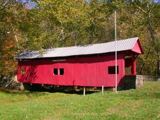 Covered Bridge 4 Royalty Free Stock Photos