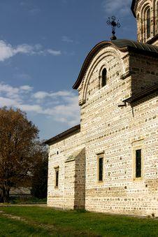 Ston Church In Sun Stock Image