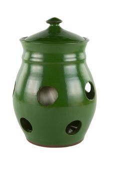 Free Garlic Jar Alpha Royalty Free Stock Image - 1477726