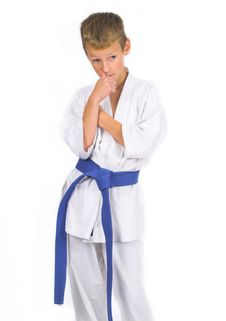 Free Child In Karate Stock Images - 1478524