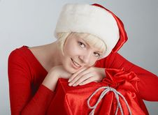 Free Miss Santa Stock Photo - 1478710