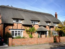 Free Thatched Village House Stock Photo - 1478880